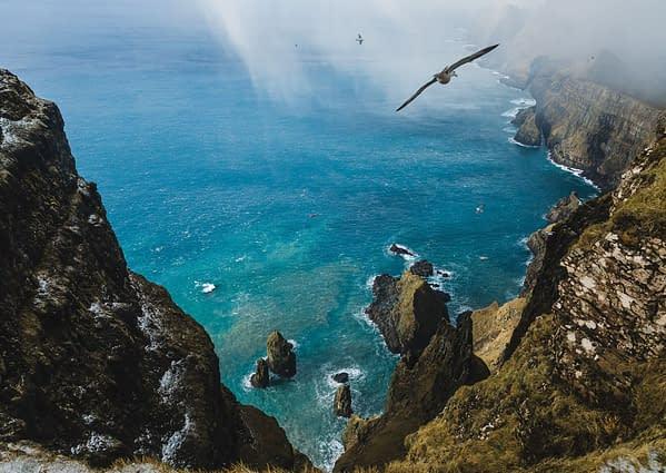 Beinisvørð cliffs - Poster 5C4A5990
