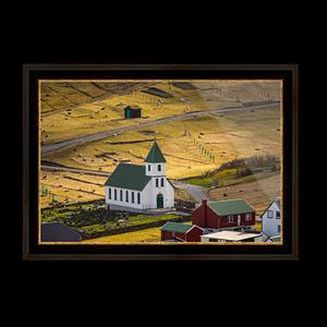 Buy gjogv church BLACK