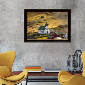 Gjogv church, Faroe - File Download for Prints gjogv church mockup1